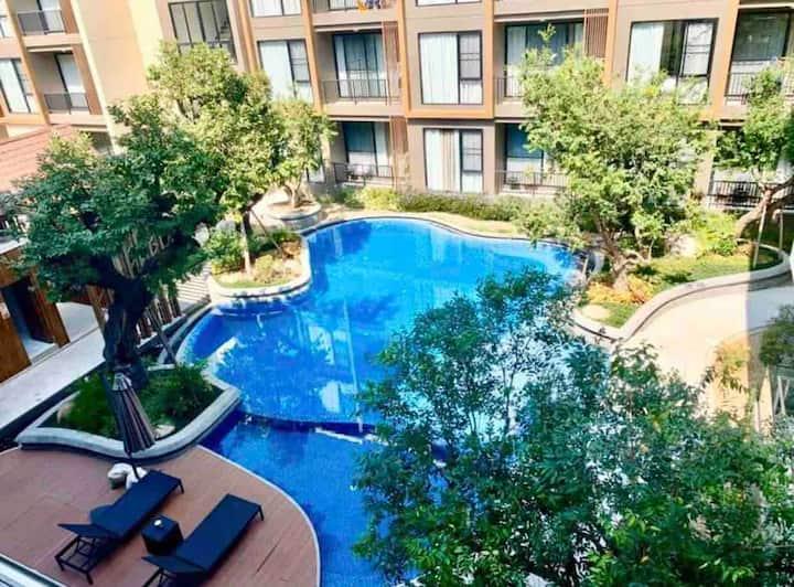 City center/MAYA/Nimman Rd./Old City/Pool/Balcony