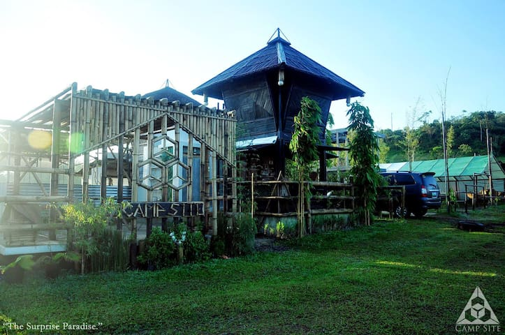 "A Different Experience of ""GLAMPING"", near Manila! - Cavinti - Hut"