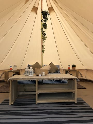 Glamping Tent (Banksia) @ Crossover