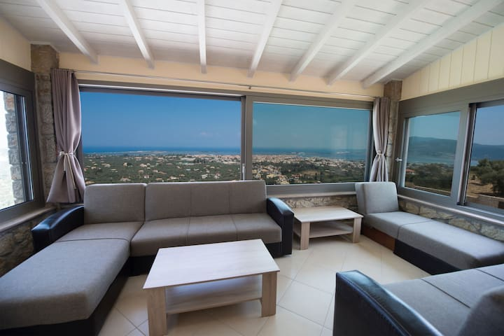 Cozy 1 bedroom apartment with panoramic sea view - Lefkada - Condominium