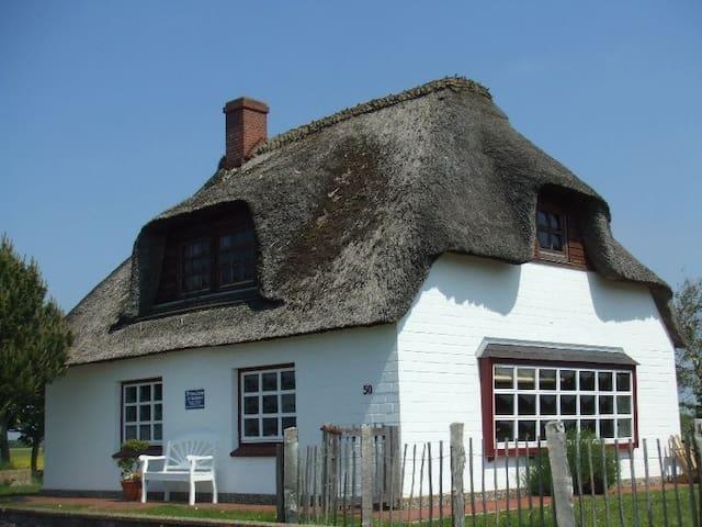 Reetkate auf der Nordsee-Halbinsel Nordstrand - Nordstrand - House