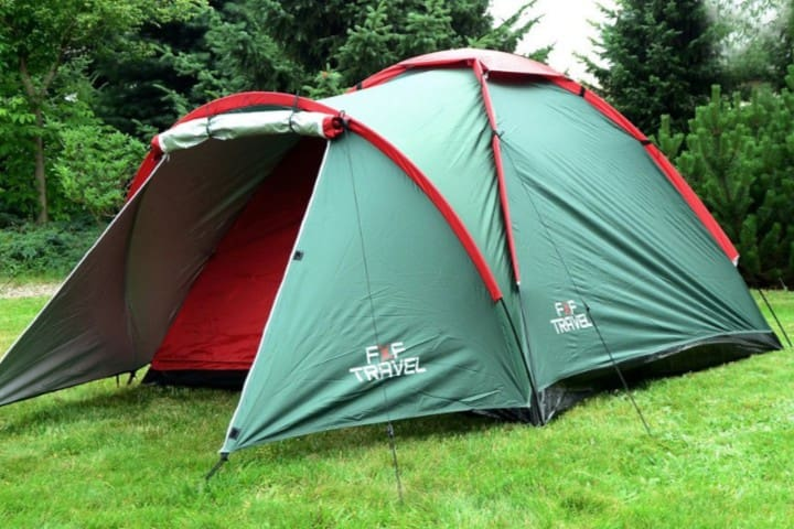 Tent renting for 2-4 person+bike free