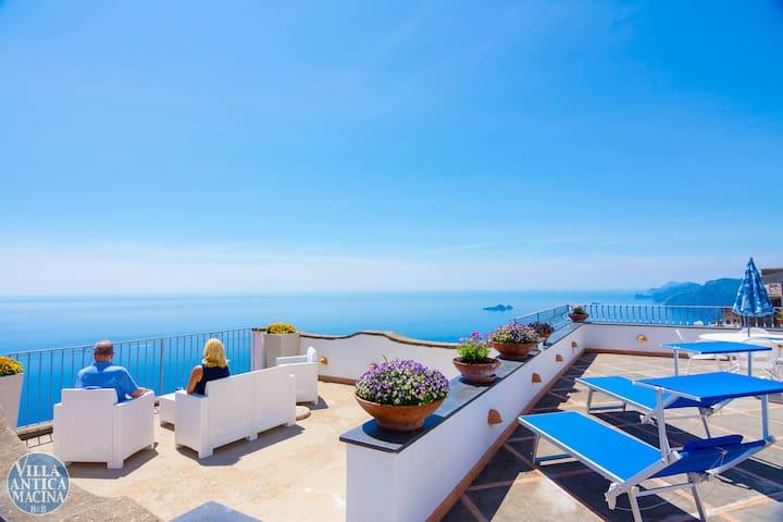 Villa Antica Macina Blue Superior Amazing Sea View