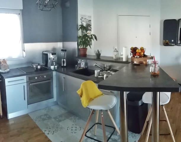 Appartement T2 lumineux et fonctionnel