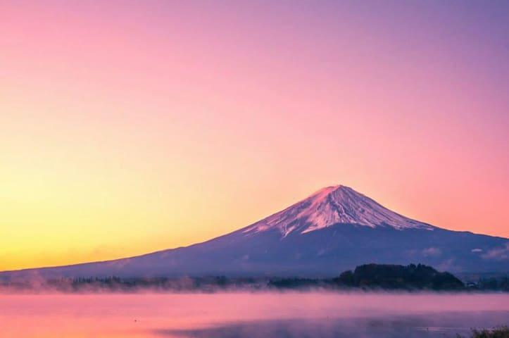 Mt Fuji house