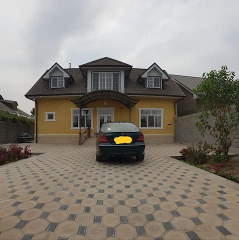 Osh, kyrgyzstan near the airport. Nice house