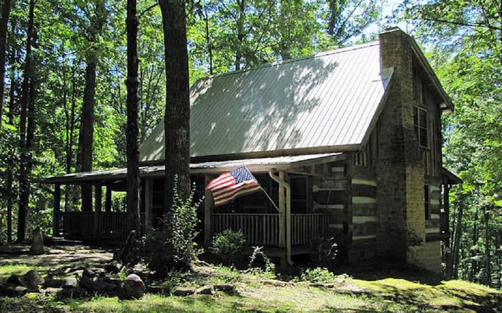 The Kelly Reed Cabin is a special piece of the past!
