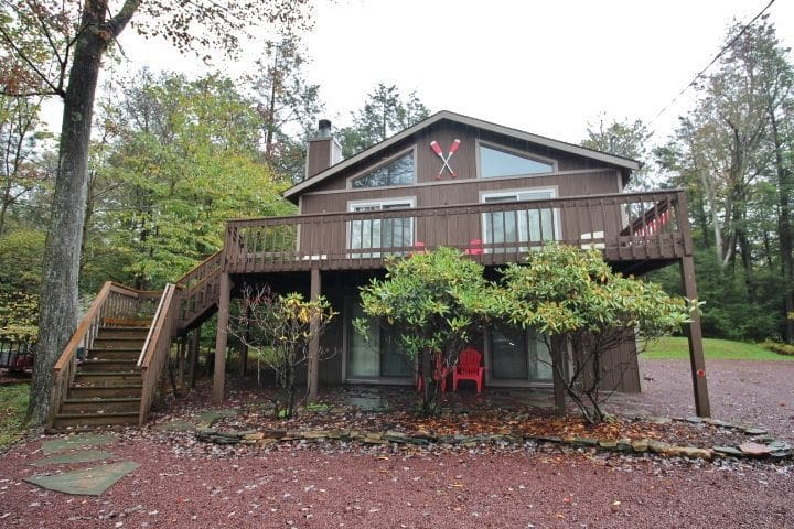 Lake Views & Quiet, Family Friendly Pocono Home!