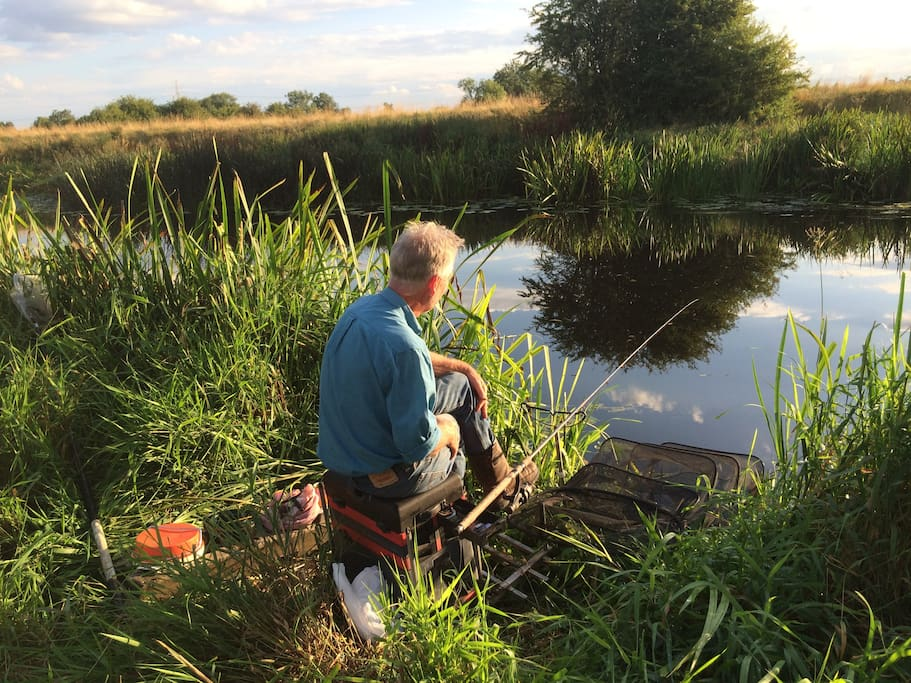 Private fishing available on the river Soar.
