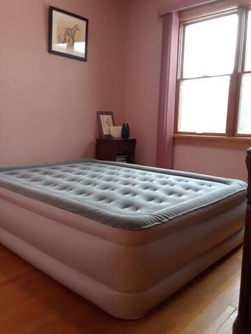 Bedroom 1 air mattress