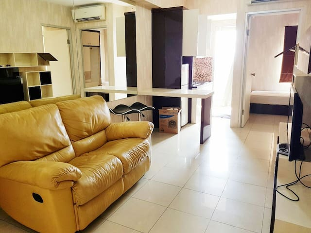 Luxurious 2BR Green Bay Apart Pluit (Baywalk Mall)