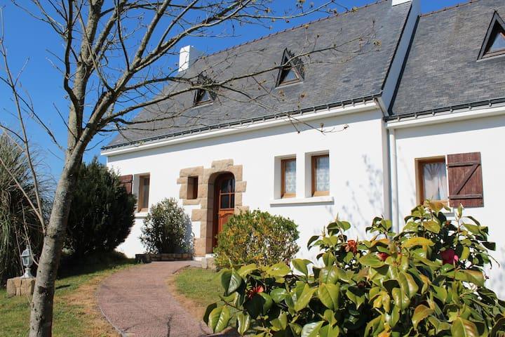 Chambre privée maison partagée à Plouharnel