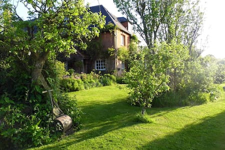 Double room, ensuite & balcony on a smallholding - Bed & Breakfast