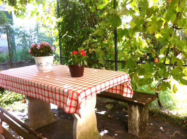 Comfortable big apartment with wifi near lake Como - Calolziocorte - House