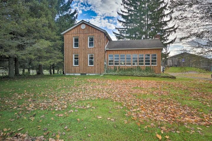 Vintage Farmhouse 2.4 Miles to Mount Pleasant Ski!