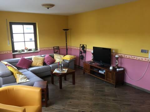 Vriendelijk appartement in Stammbach