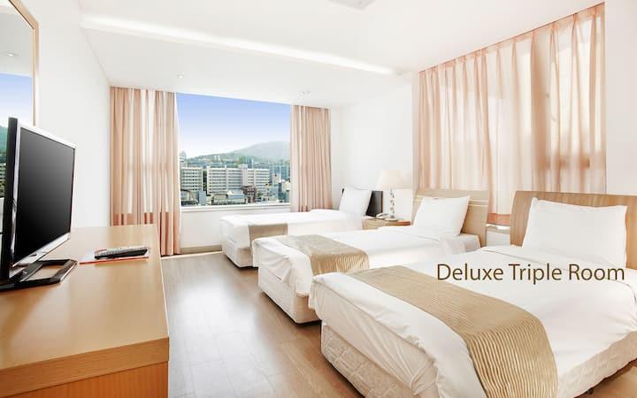 현대 레지던스 (Hyundai Residence) 디럭스 트윈룸[2인]