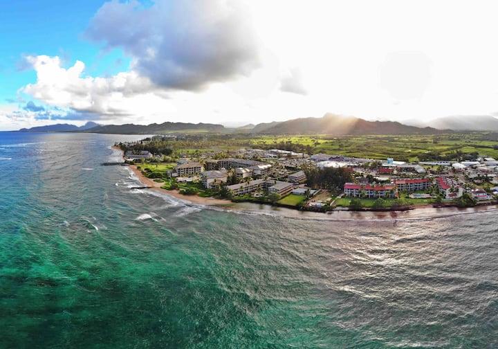 Oceanfront Ground Floor Condo in Kauai Hawaii