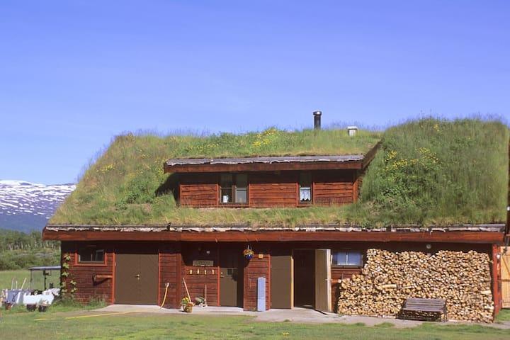 Guesthouse on the Huskyfarm Innset