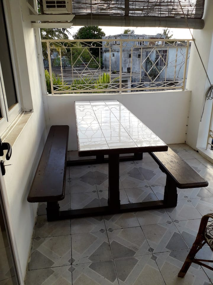 Apartment with 2 bedrooms in Grand Baie, with wonderful city view, balcony and WiFi - 300 m from the beach