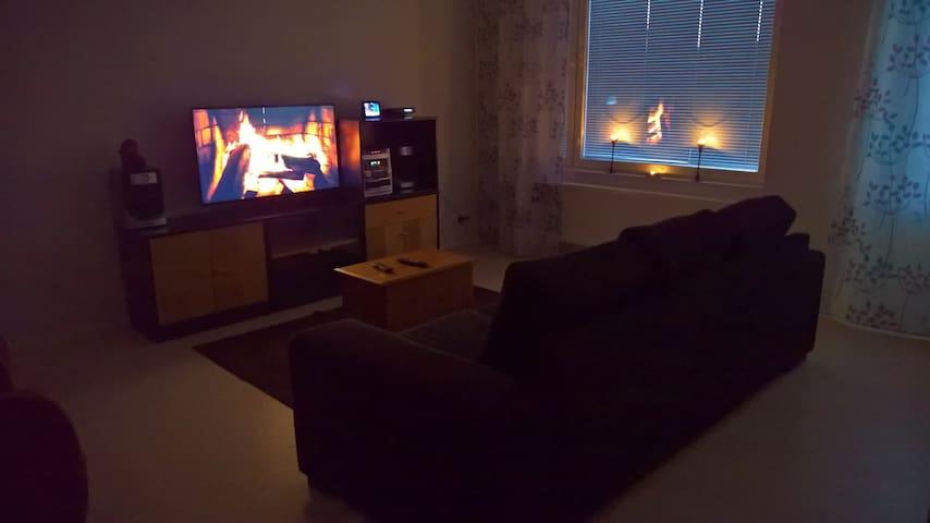 Kempele keskusta: 3 h + keittiö + sauna (4.kerros) - Kempele - Apartament