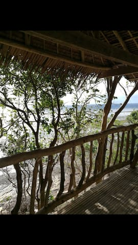 calatagan beach front private native bungalow