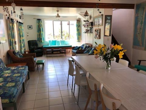 Shearwater - casa spaziosa, per 2 famiglie