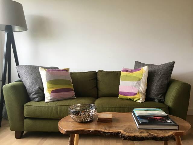 Large comfortable sofa