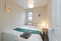 We can easily transform the room into a double bed configuration.. cosy but very comfortable