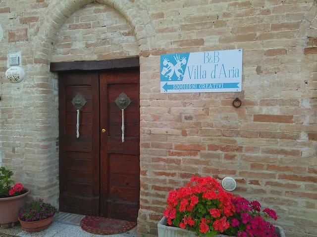 Villa D'Aria Appartamento a Volte - Tolentino - Bed & Breakfast