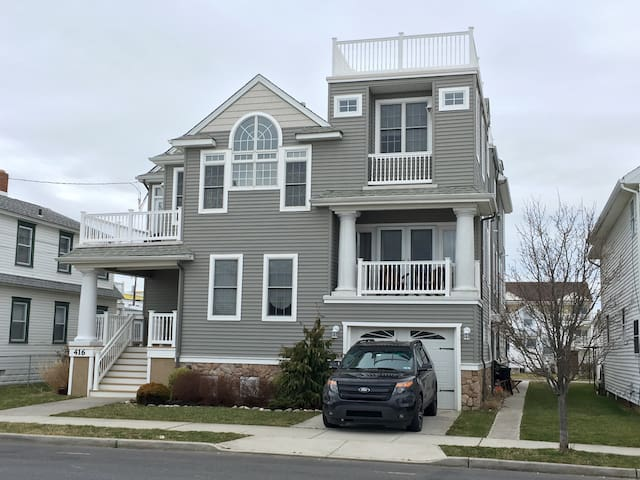 Luxury Townhome Renting Summer 2017 - North Wildwood - Casa