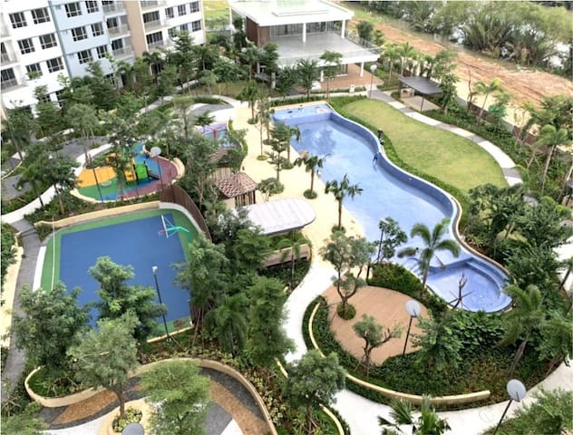 Luxury Apartment Free Pool & Gym in Palm Height D2