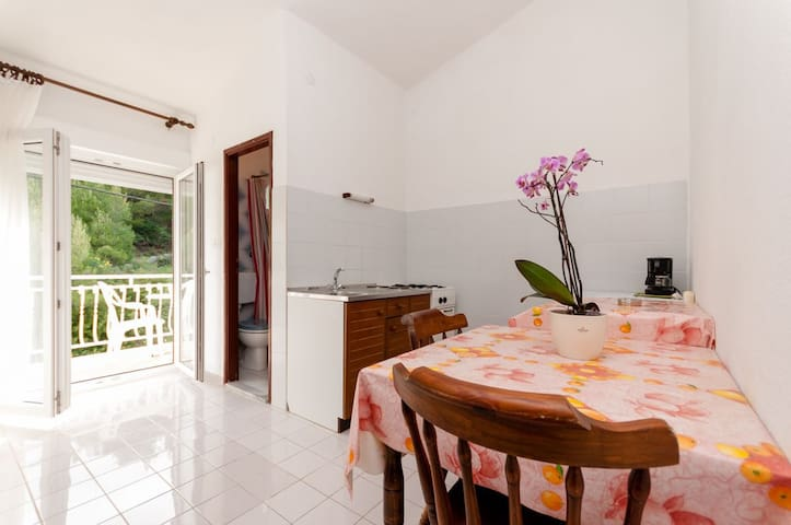One bedroom Apartment, in Duce, Balcony