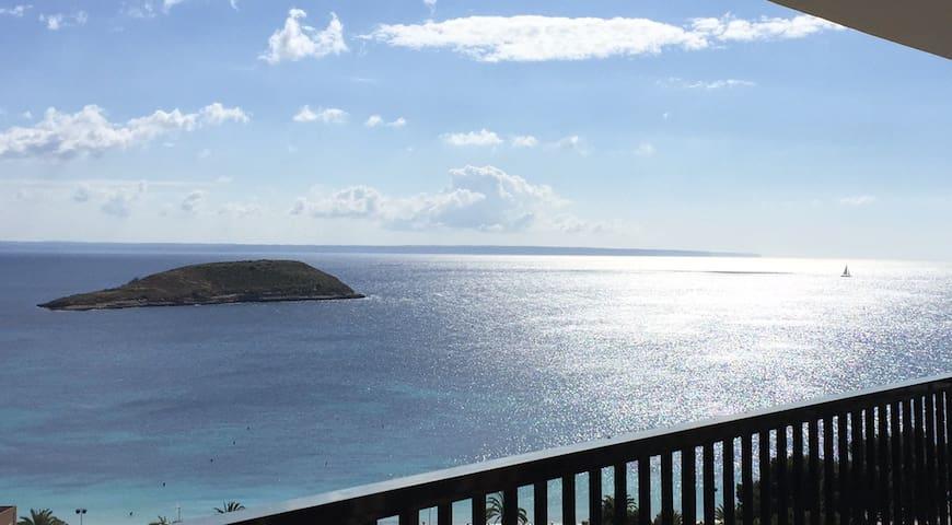 Moderno Apartamento con Maravillosas Vistas al Mar - Magaluf - Byt