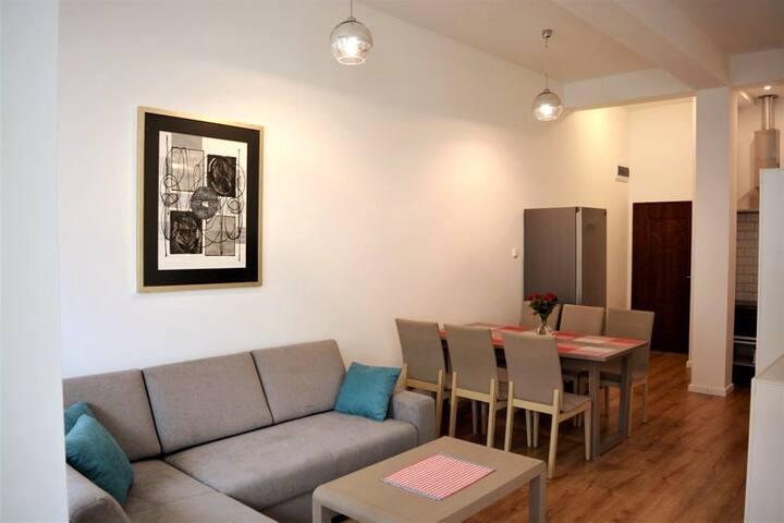 Apartament Jantar Plus II centrum Giżycka