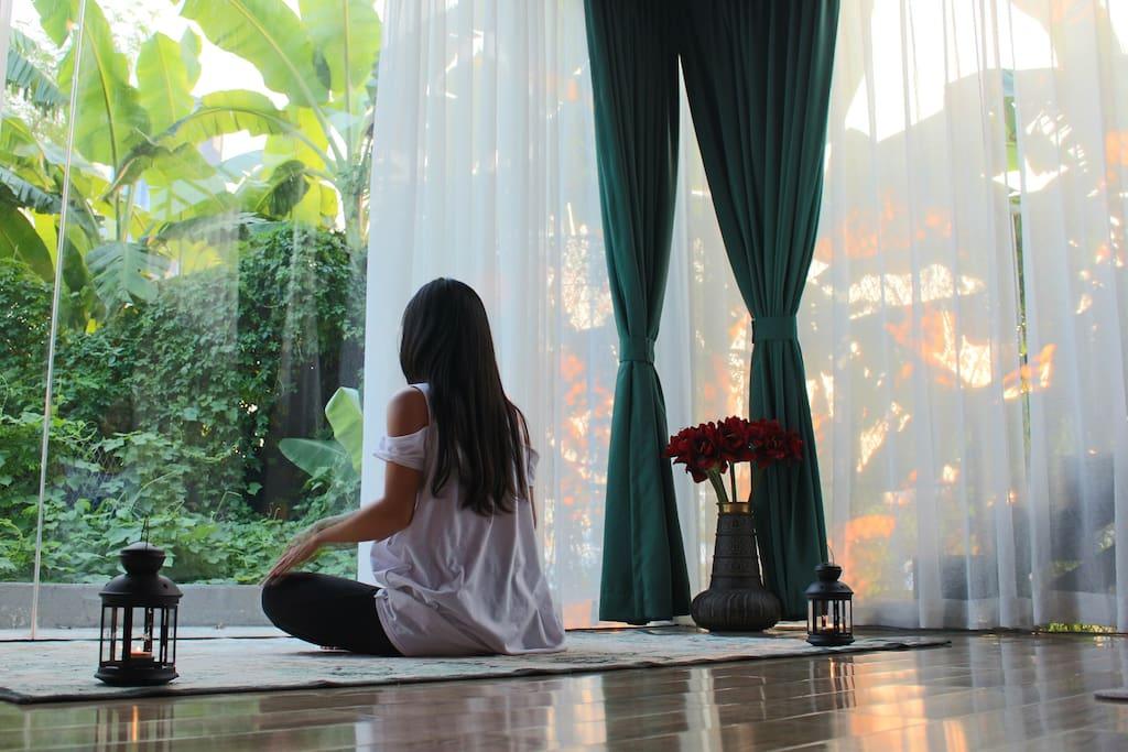 配套瑜珈室