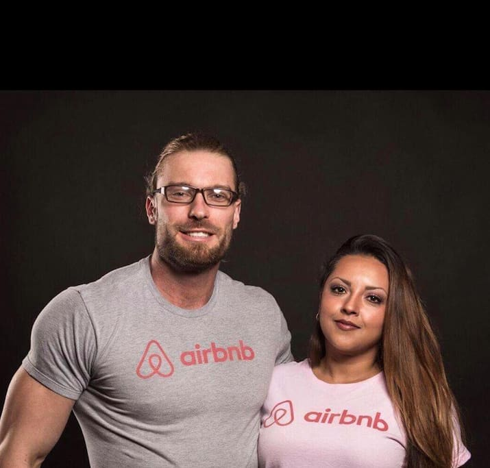 Your Airbnb Hosts: Mike & Nicte
