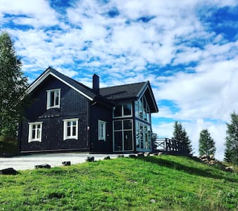 Luxury Mountain Villa 1 H from Oslo - House