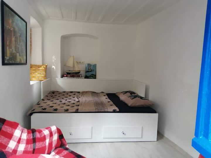 Cozzy room with secret garden in city center