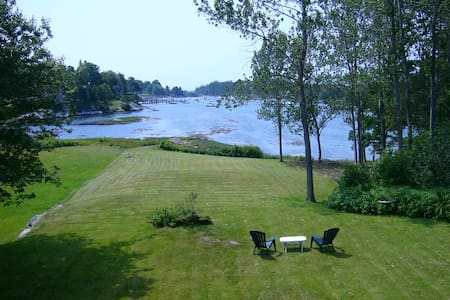 Cozy Harbor Cottage--Southport Island Maine - Southport