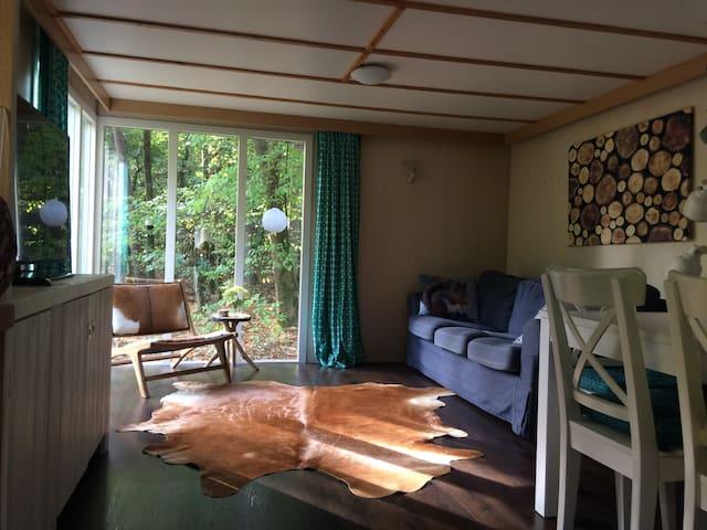 Boschalet Dennemees op de Veluwe