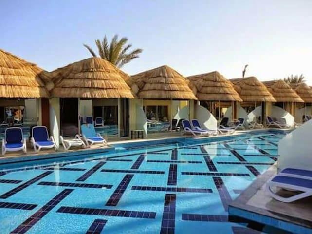 Pool bungalow @ El Gouna - Hurghada - Bungalou