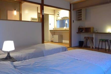 New renovated 2 Beds & 1 Sofabed Studio/Mobil WiFi - Sakyō-ku, Kyōto-shi