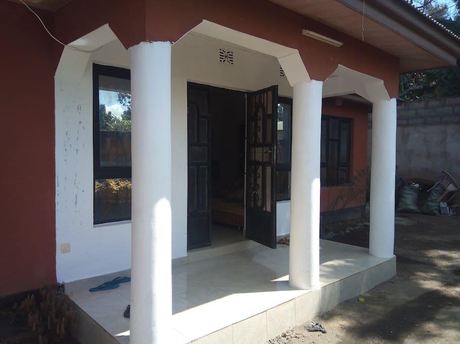 The house canopy