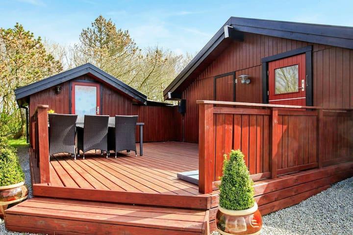 Maison de vacances spacieuse à Vestervig avec terrasse