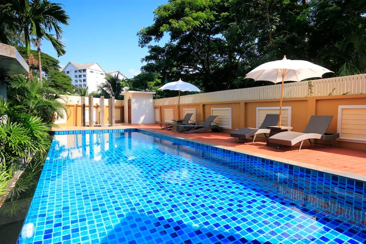 Excellent location with Pool View, close to Nimman
