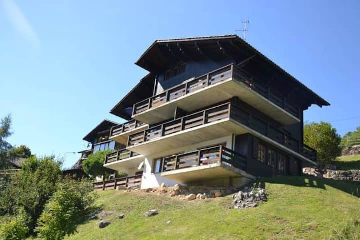 2 room apartment with nice view on the mountains between Barboleuse and Gryon