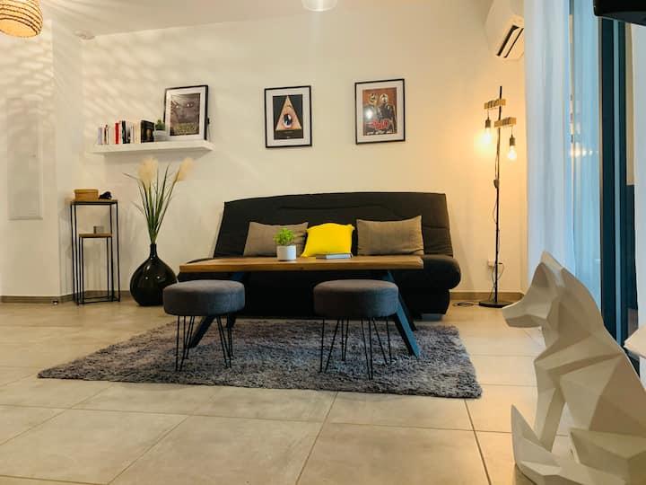 Appartement neuf climatisé tout confort