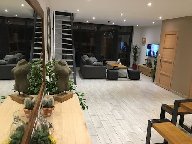 Loft 160m2 calme et lumineux - Tourcoing - Loft