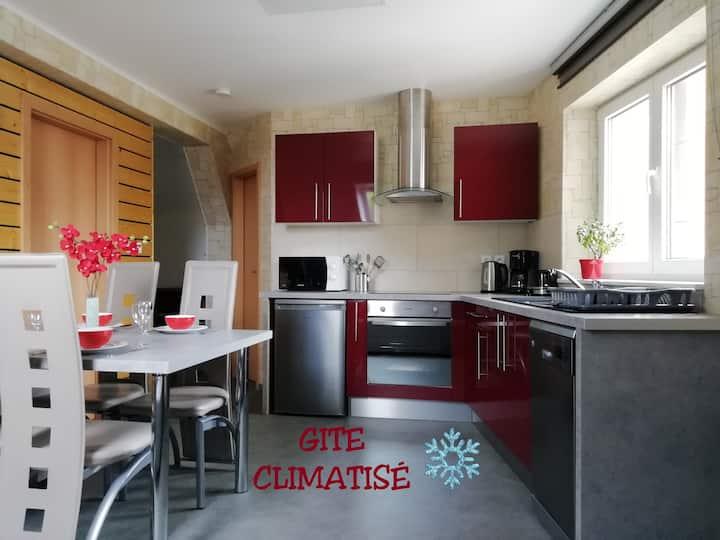 Gîte climatisé & classé 3* à SELESTAT Alsace
